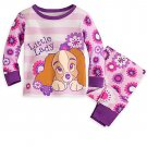 Disney Store Lady and the Tramp PJ Pals for Baby Pajamas 6-9 Months