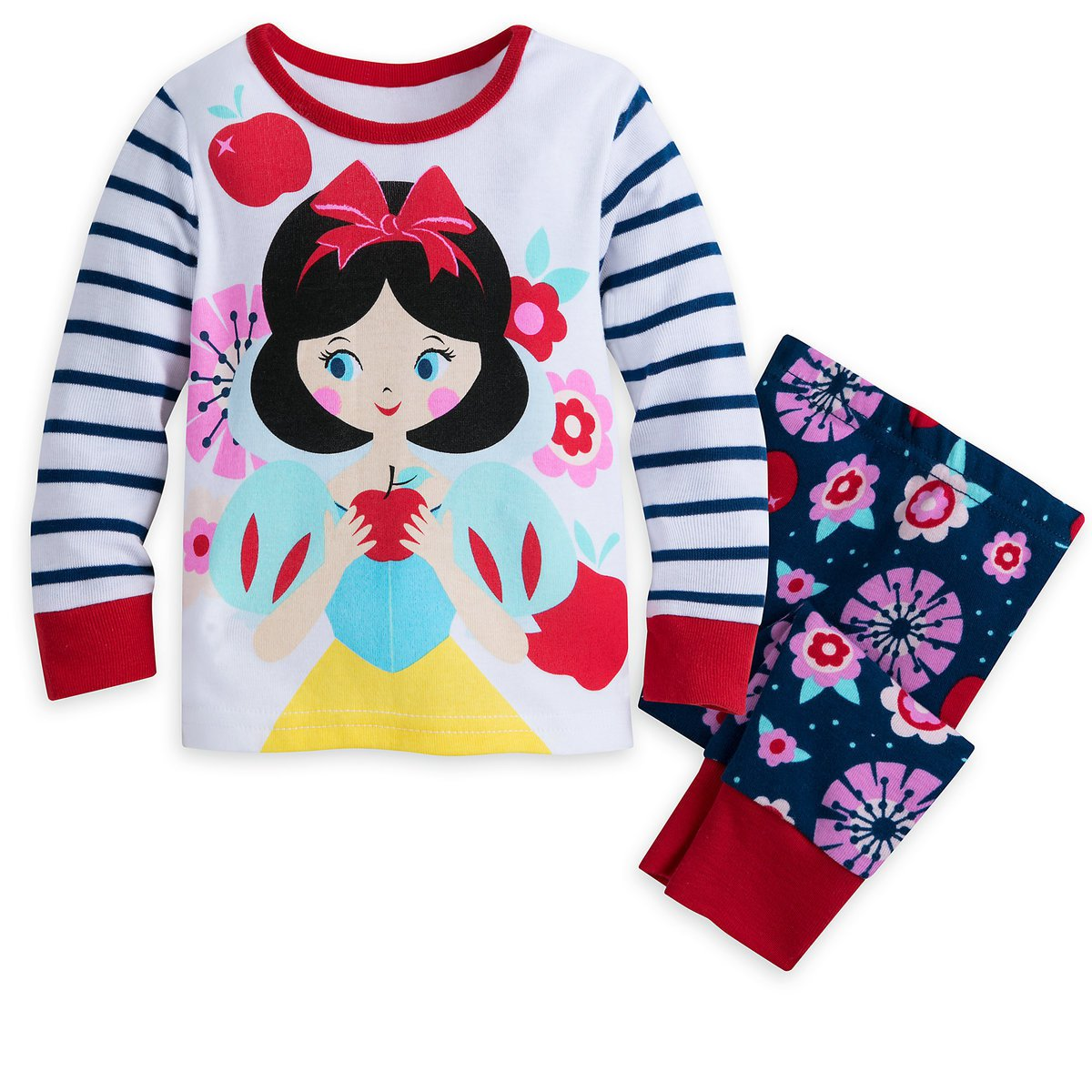 Disney Store Snow White PJ Pals for Baby Pajamas 18-24 Months