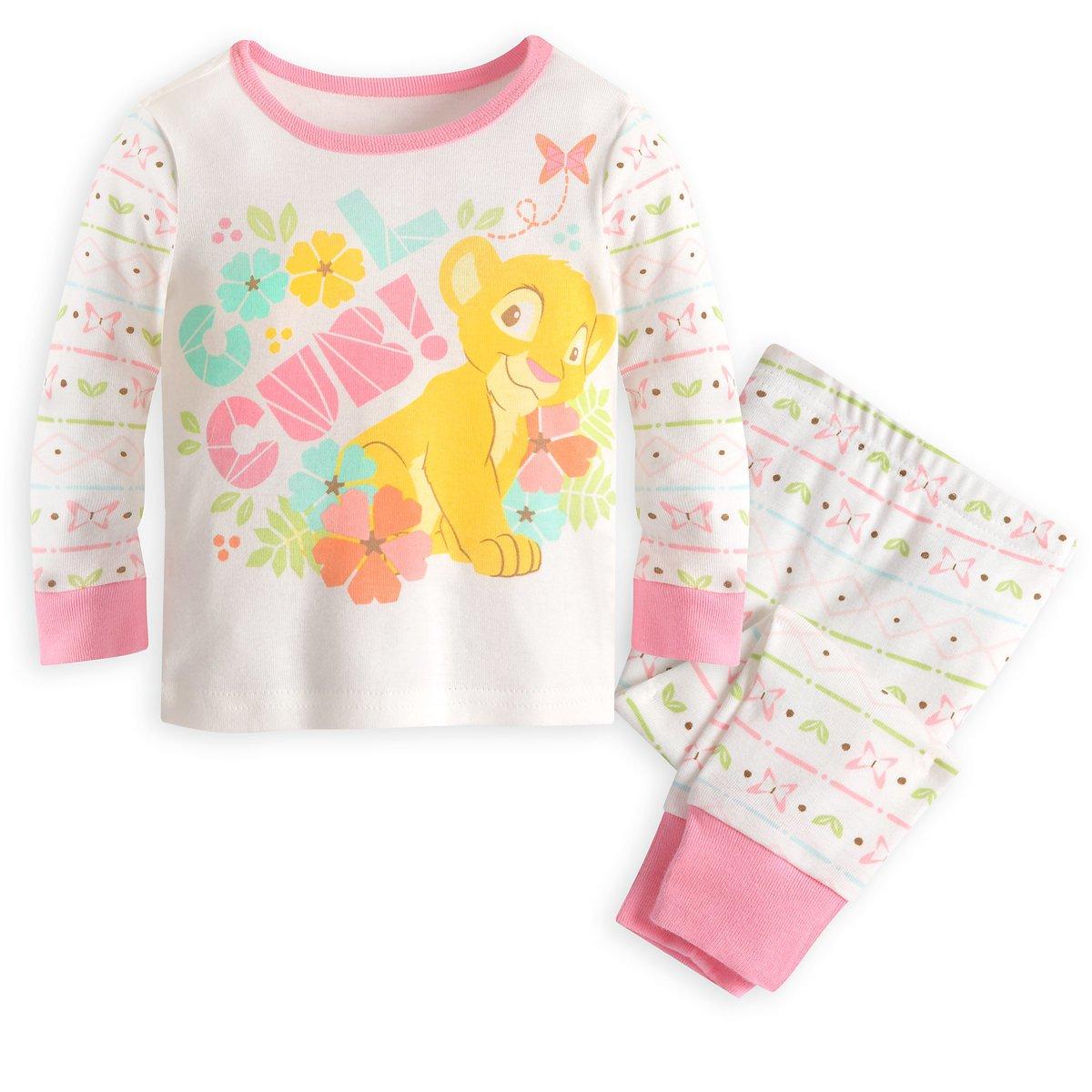 Disney Store Lion King Nala PJ Pals for Baby Pajamas 3-6 Months