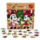 Disney Store Minnie and Mickey Mouse Christmas Puzzle 500 Piece 2016
