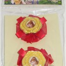 Disney Princess Girls Hair Clips Accessories Belle New Theme Parks
