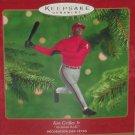 Hallmark Ken Griffey Jr Christmas Ornament 2000 Cincinnati Red MLB Baseball