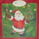 Hallmark Ornament Jungle Bell Kringle 2000 Santa Claus Christmas Tree