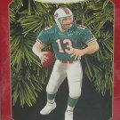 Hallmark Ornament Dan Marino Miami Dolphins Christmas Holiday Football NFL 1999