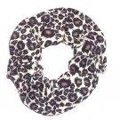 Cheetah Print Fabric Hair Scrunchie Scrunchies by Sherry
