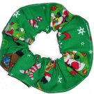 Looney Tunes Christmas Hair Scrunchie Tweety Bugs Buuny Taz Scrunchies by Sherry