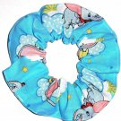 Disney Dumbo Blue Fabric hair Scurnchie Scrunchies by Sherry