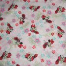 Disney Minnie Mouse Floral Pink Fabric hair Scurnchie Scrunchies by Sherry