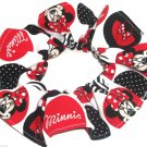 Disney Minnie Mouse Circles Fabric hair Scurnchie Scrunchies by Sherry