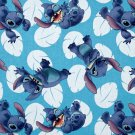 Disney Stitch Blue Fabric hair Scurnchie Scrunchies by Sherry