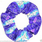 Disney Glowing Tinker Bell Purple Fabric hair Scurnchie Scrunchies by Sherry