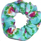 Disney Frozen Elsa Anna Christmas Blue Fabric hair Scurnchie Scrunchies by Sherry