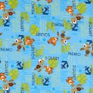 Disney Finding Nemo Squirt Blue Fabric hair Scurnchie Scrunchies by Sherry