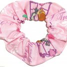 Disney Lady and the Tramp Pink Fabric hair Scurnchie Scrunchies by Sherry