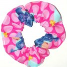 Disney Winnie the Pooh Eeyore Pink Fabric hair Scurnchie Scrunchies by Sherry