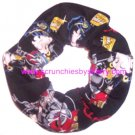 Betty Boop Biker Black Fabric Hair Scrunchie Scrunchies by Sherry