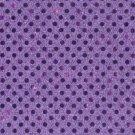 Lavendar Purple Sequin Dots Fabric Hair Scrunchis Scrunchies by Sherry