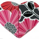 Vera Bradley Hearts to Heart Jewelry Box Cheery Blossoms New