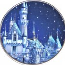 Disneyland 60th Diamond Celebration Dessert Plate Sleeping Beauty Castle 2016