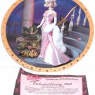 Barbie Enchanted Evening 1960 Collector Plate Enesco Retired Vintage