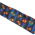 Disney Winnie Pooh Mens Neck Tie Necktie Blue Green Black