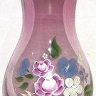 Fenton Amethyst Glass Vase Teleflora Gift Floral Flowers
