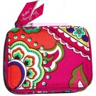 Vera Bradley Travel Pill Case Pink Swirls New