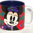 Disney Minnie Mouse Mug Cup Coffee Tea Red Purple Vintage