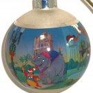 Disney Theme Parks Dumbo Christmas Ornament Glass Ball