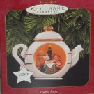 Hallmark Ornament Teapot Party Magic Light 1997 Christmas Holiday