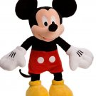 """Disney Store Mickey Mouse Red Shorts Plush Toy Exclusive Original 17"""" New"""