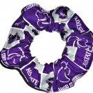Kansas State Wildcats Fabric Hair Scrunchie Scrunchies by Sherry NCAA NEW