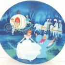 Disney Princess Cinderella Bibbidi Bobbidi Boo Collector Plate Knowles Vintage