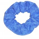Blue Green Variegated Color Fabric Hair Scrunchie Scrunchies by Sherry
