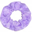 Lavendar Purple Variegated Color Fabric Hair Scrunchie Scrunchies by Sherry