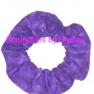 Purple Variegated Color Fabric Hair Scrunchie Scrunchies by Sherry