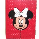 Disney Minnie Mouse Red Photo Picture Frame Pokla Dots Bow Theme Parks