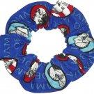 President Obama Fabric Hair Scrunchie Tie Scrunchies by Sherry