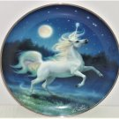 The Diamond Unicorn Collector Plate Franklin Mint