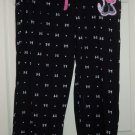 Disney Minnie Mouse Ladies Lounge Pants Sleepwear PJ's Black New Size X-Large