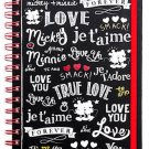 Disney Store Minnie Mouse Journal Diary I Love Mickey Collection 2016