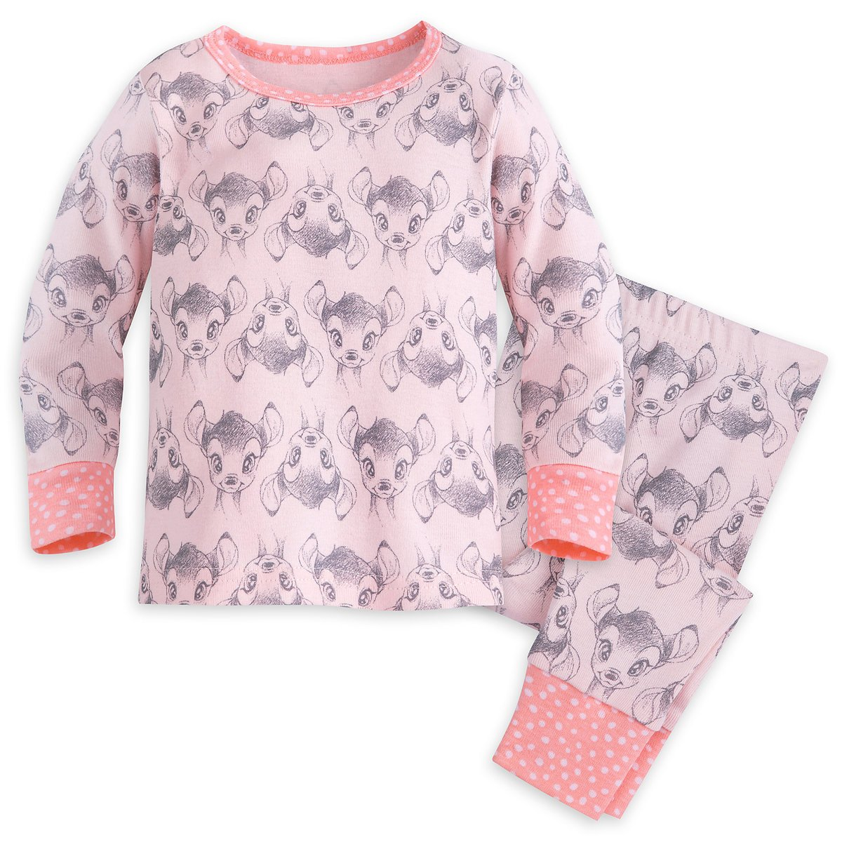 Disney Store Bambi PJ Pals for Baby Pajamas 18-24 Months
