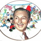 Walt Disney 85th Anniversary Collectors Plate Mickey Mouse Alice Snow White