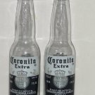 Coronaita Extra Salt Pepper Shakers Glass 7 oz