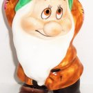 Disney Bashful Dwarf Snow White Ceramic Figurine Figure Aw Shucks