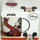 Disney Mickey Minnie Goofy Pluto Coffee Mug Cup New Boxed