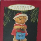 Hallmark Ornament Mom 1993 Christmas Holiday Teddy Bear