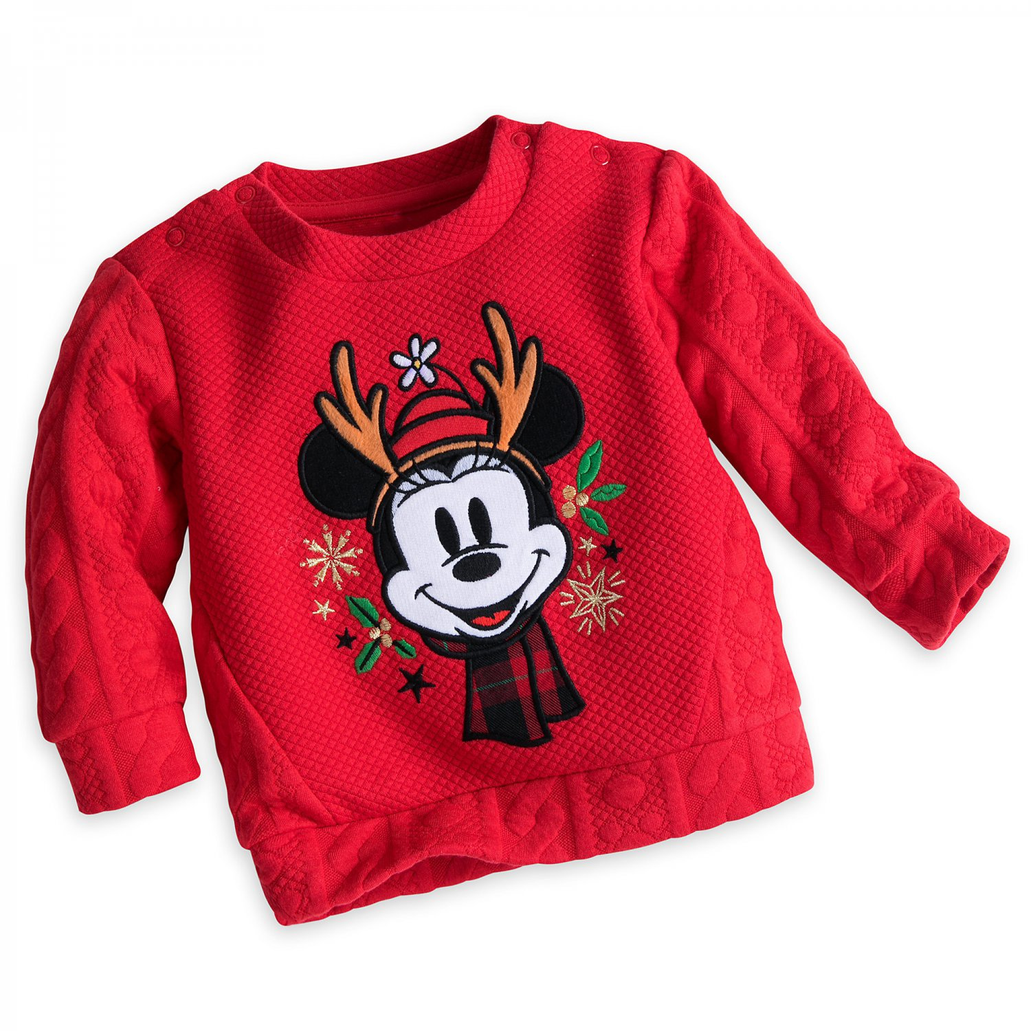 Disney Store Minnie Mouse Christmas Sweater for Baby 2017 0-3 Months