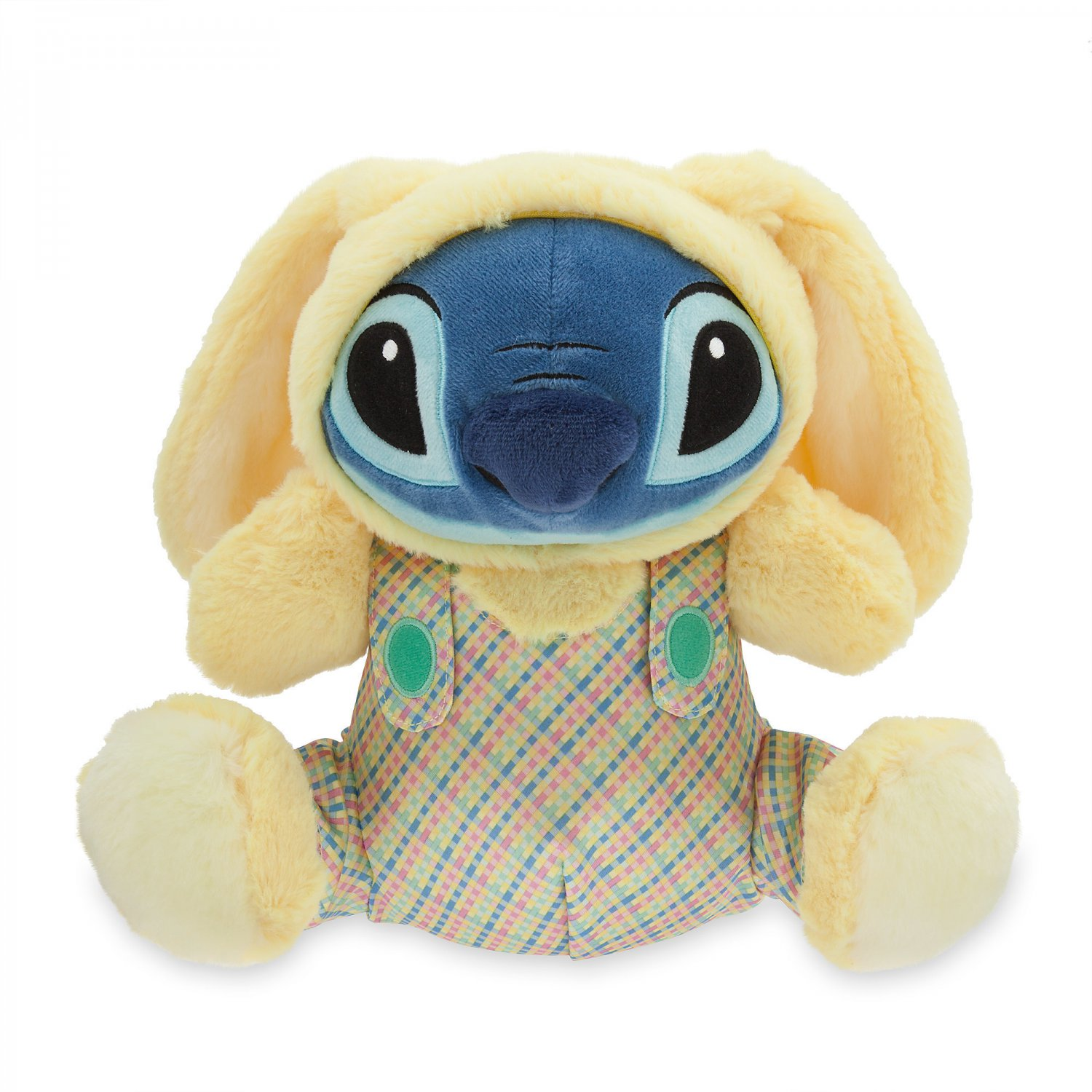 Disney Store Stitch Easter Bunny Plush Toy Yellow 2018