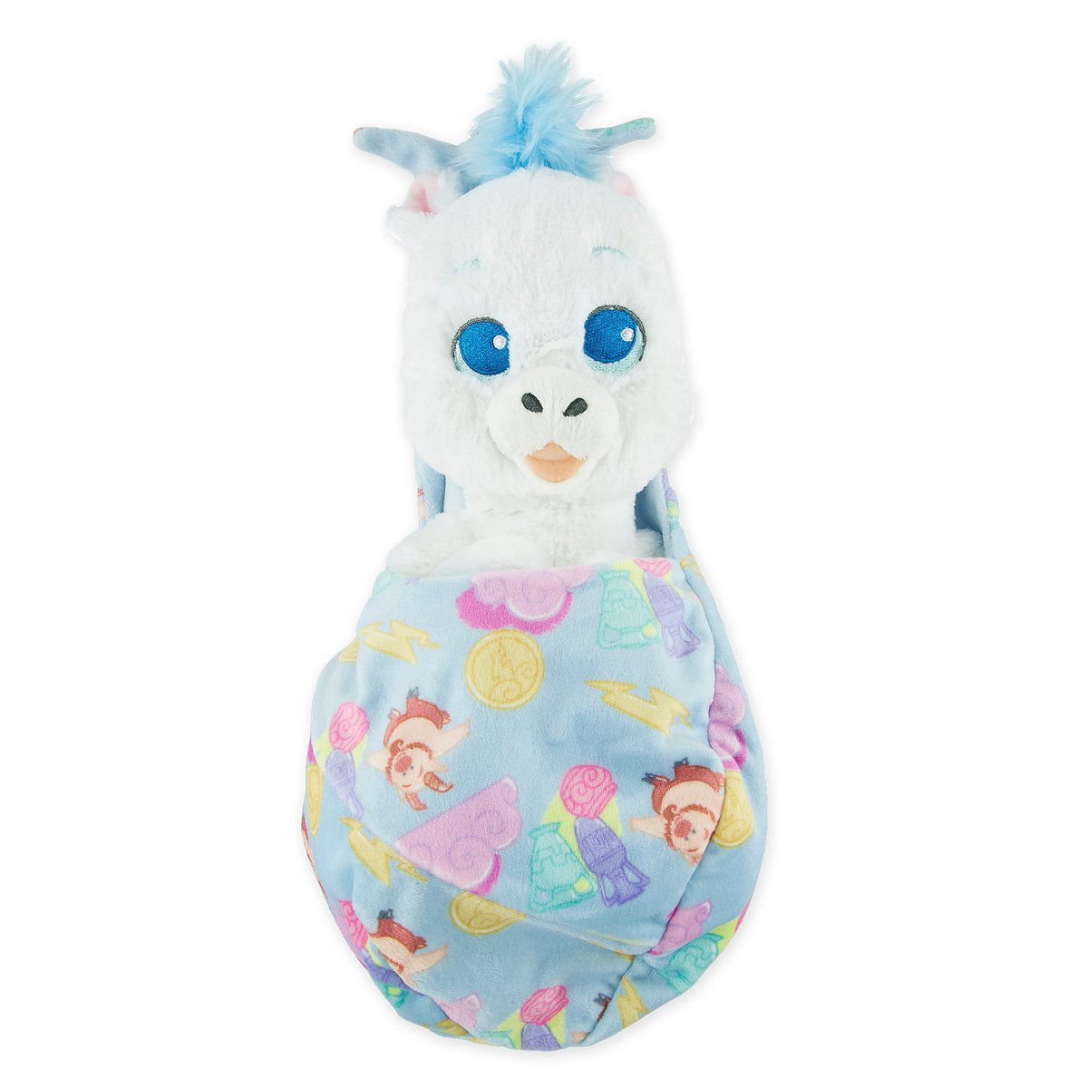 Disney Parks Pegasus Plush with Blanket Pouch - Disney's Babies - Small